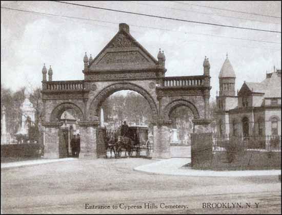 Cypress Hills Original Entrance